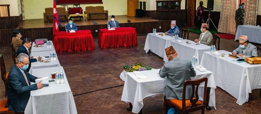 नेकपा सचिवालय बैठक भदौ १३ गते बस्ने
